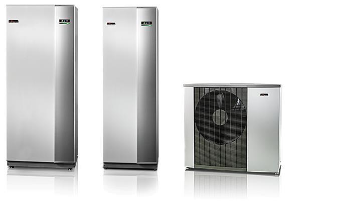 Luft til vand-varmepumper til opvarmning af bolig og brugsvand